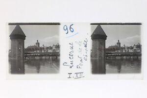 Lucerna-Suisse-Foto-Stereo-T2L9n68-Placca-Da-Lente-Vintage