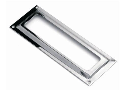 Etikettenrahmen Eisen vermessingt oder vernickelt in 2 versch Größen 59x20 80x26