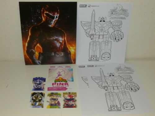 PARTY KIT Poster BOOM! MIGHTY MORPHIN POWER RANGERS #0-3rd Printing Variant