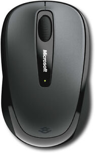 Microsoft - Wireless Mobile Mouse 3500 - Loch Ness Gray