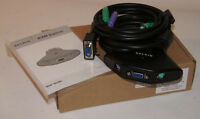Belkin Ps/2-port Kvm Switch + Built-in Cables F1dk102p