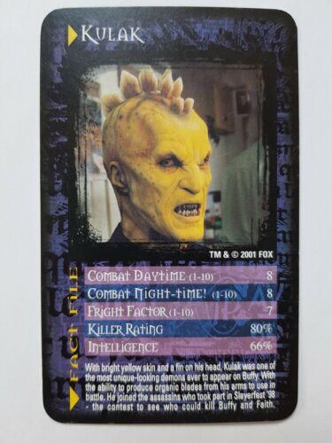 1 x Top Trumps Buffy Vampire Slayer Single Card Cards Choose A Card