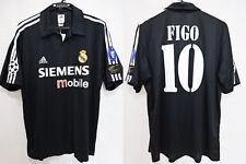 2002-2003 Real Madrid Jersey Shirt Camiseta Figo #10 L UEFA Champions League NWT