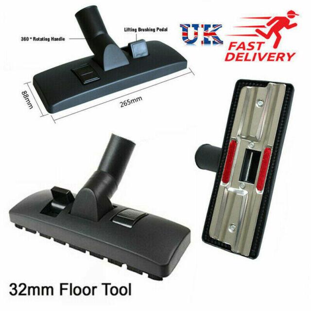 Vax Universal Vacuum Combination Carpet Brush Hard Floor Tool with Wheels 32mm