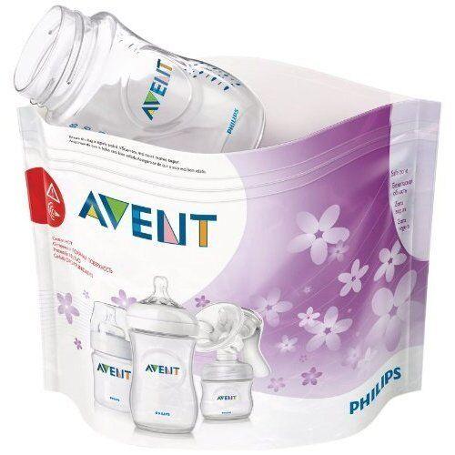 PHILIPS Avent Micro-Onde Vapeur Stérilisateur Bags Pack de 5 Brand New /& Sealed