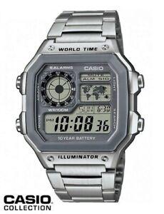 Reloj-Digital-CASIO-AE-1200WHD-7A-Hora-Mundial-5-Alarmas-Temporizadores