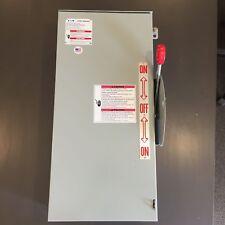 eaton double throw 100 amp generator transfer switch dt223urk nps ebay rh ebay com Cutler Hammer Generator Transfer Switch Cutler Hammer Manual Transfer Panel