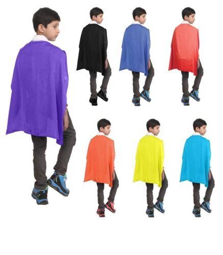 Vestido de Disfraz Niños Niñas Niños Disfraces de fiesta de satén de lujo Capa Superhéroe