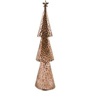 weihnachtsbaum deko objekt metall 48x13x7cm kupfer xmas. Black Bedroom Furniture Sets. Home Design Ideas