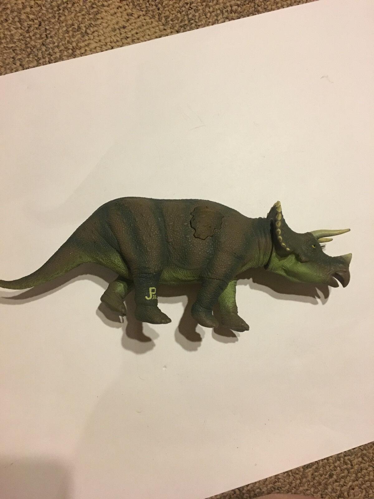 JURASSIC PARK LOST WORLD triceratops DINOSAUR FIGURE dino damage