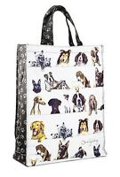 Ashdene Scallywags Tote Bag Dogs Black Lab Westie German Shepherd 100% Cotton