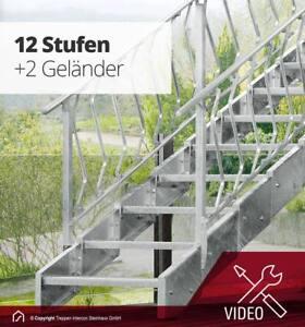 Hervorragend Stahltreppe Innotec Treppe Balkon Außentreppe Treppen Metall außen PC56