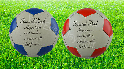 Memorial heart-Fathers Day//Special Dad Grave Ornament-Personalised any text15cm