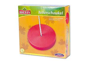 Mounty-Kunststoffschaukel-Schaukelsitz-Schaukel-Kunststoff-Tellerschaukel