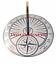 thumbnail 2 - Dragon Fly Garden Sundial Garden Decor Rome Steel & Brass Vintage Sundial Gift
