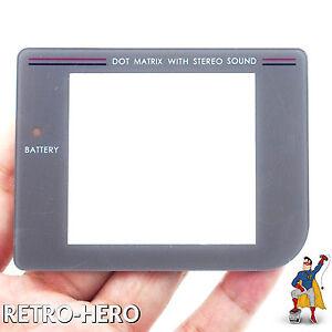 Nintendo-GameBoy-Classic-Display-Scheibe-Grau-Ersatz-Austausch-Schutz-Game-Boy