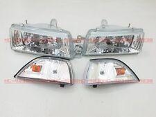 Headlights Headlamps for M8#G Corolla AE92 AE93 AE94 E90 EE90 sedan CL 89-92