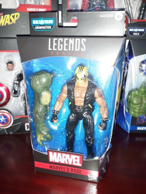 Marvel Legends RAGE figure OOB Avengers Endgame NO BAF New Warriors Comic Hero