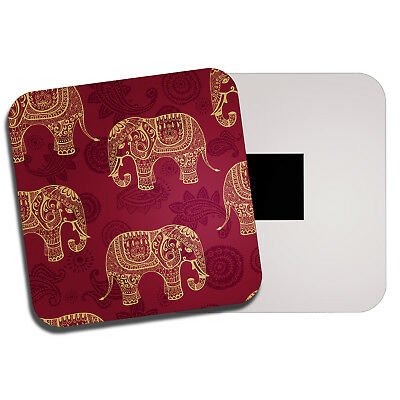 Elephant Wild Animal Trunk Gift #16961 Cute Elephants Classic Fridge Magnet