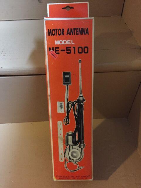 Vintage Car Motor Antenna Model ME-5100 NOS!