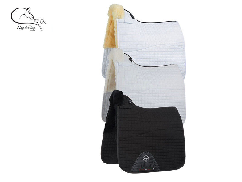 LeMieux Merino Lambskin Dressage Saddlecloth Pad Square Colours FREE P&P