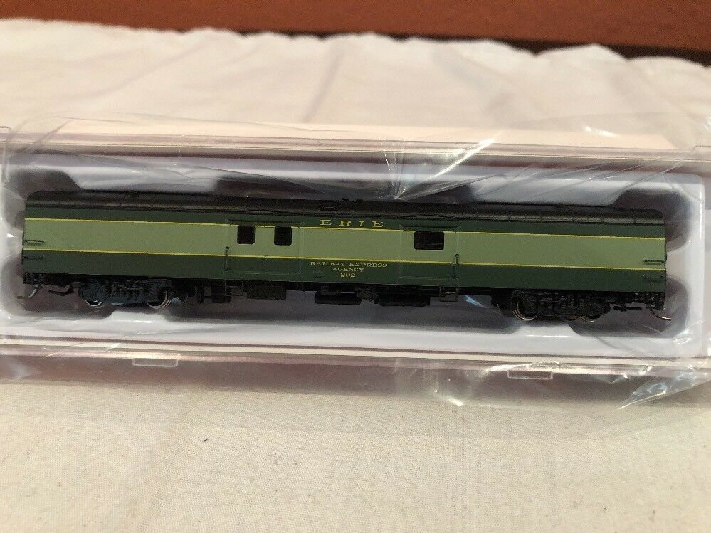 N SCALE RAPIDO TRAINS BAGGAGE EXPRESS  506021 ERIE  202