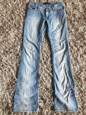 Katherine Hamnett Super Cool Perfetto Taglio Light Blue Chic Originale Jeans Slim Fit Xs- Materiali Accuratamente Selezionati