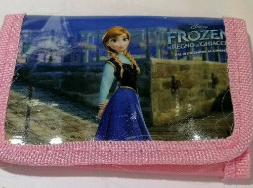 Disney Frozen Anna girls kids children Wallet coin Purse tri-fold