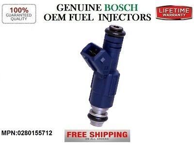 V6 Catera 9-5 Genuine BOSCH Fuel Injector 0280155712 Lifetime Warranty