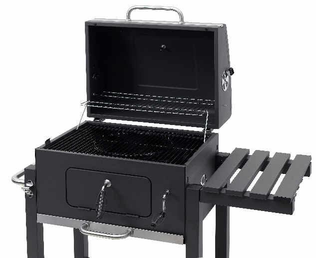 Tepro Toronto Holzkohlegrill Click Preisvergleich : Tepro grillwagen toronto click b ware ebay