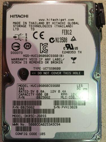 """Hitachi 600Gb 2.5/"""" 10K SAS Drive"""