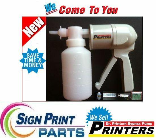 Printers Head Cleaning Kit - DRY INK Cleaning Pump, ROLAND-MUTOH-MIMAKI-EPSON