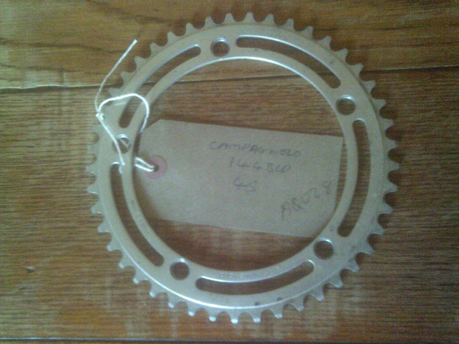 45 TOOTH 144BCD CAMPAGNOLO RECORD CHAINRING