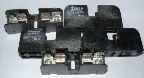 5 X 30311 Gould Ferraz Shawmut mersen Bloque De Fusibles 30a 600v se ajusta a 10 X 38mm Fusibles