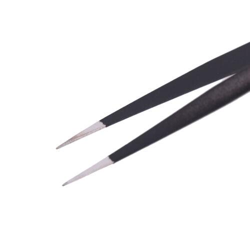 6Pcs Anti-static ESD Tweezers Repair Tool Precision Curved Straight TweezerRDUK