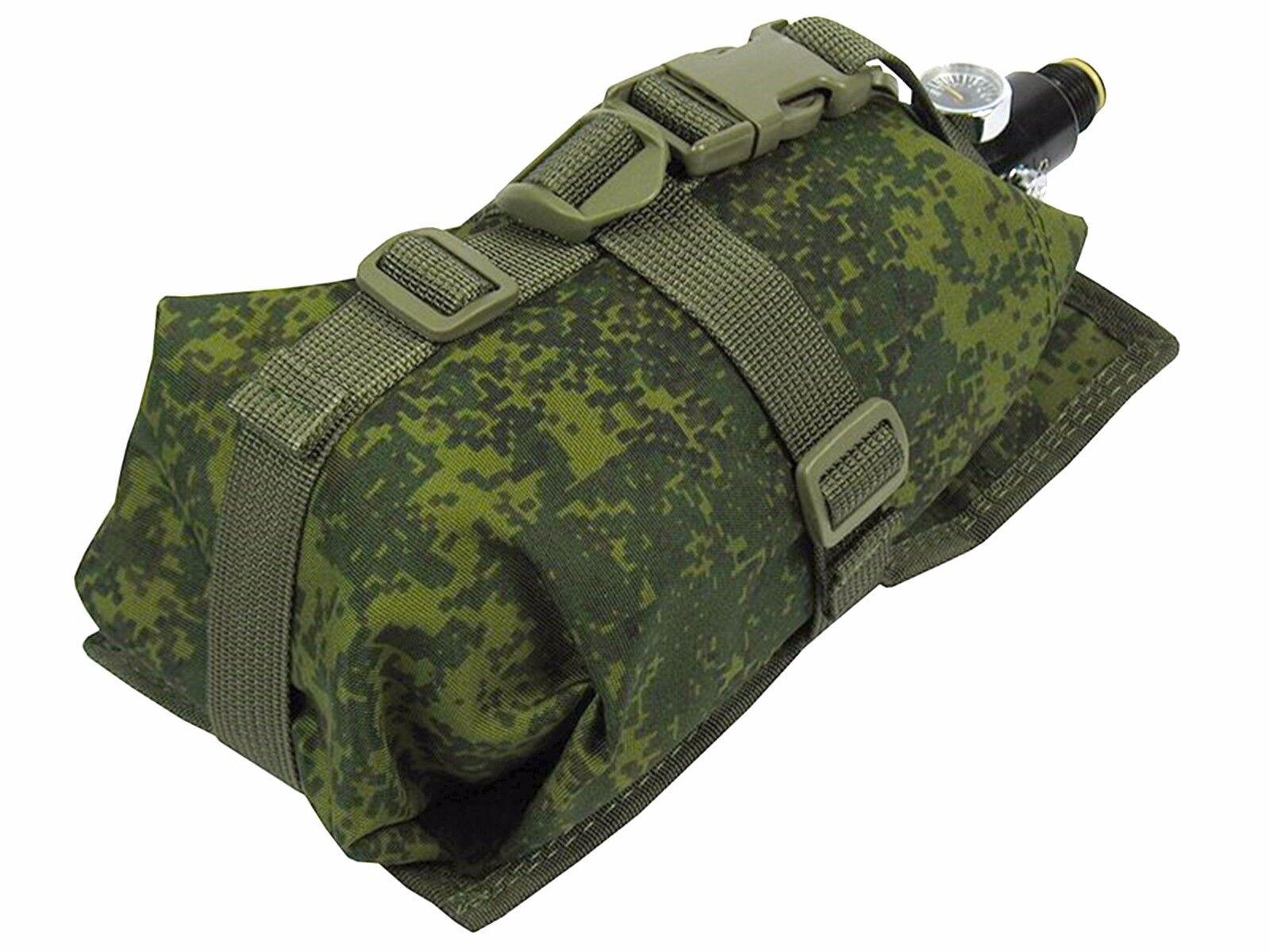 Pouch Case molle kumpels Grün od Ninja Air Tank pixel PAINTBALL Tasche Waterproof