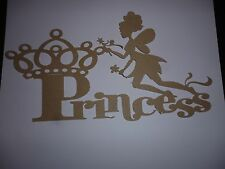 WALL OR DOOR PLAQUE OF NAME PRINCESS