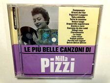 LE PIU' BELLE CANZONI DI NILLA PIZZI  -  CD 2006 NUOVO E SIGILLATO