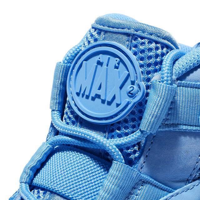 nike air max 95 2 uptempo - universität größe als 12,5.asg - universität - blau - weißer 922931-400 b618a9