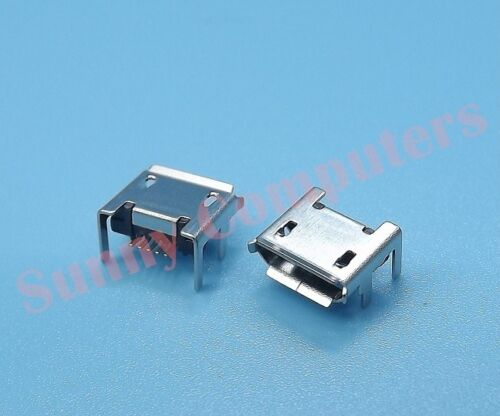 2x Micro USB Socket Port Female Plug Replacement Part For Tablet Mobile Repair C