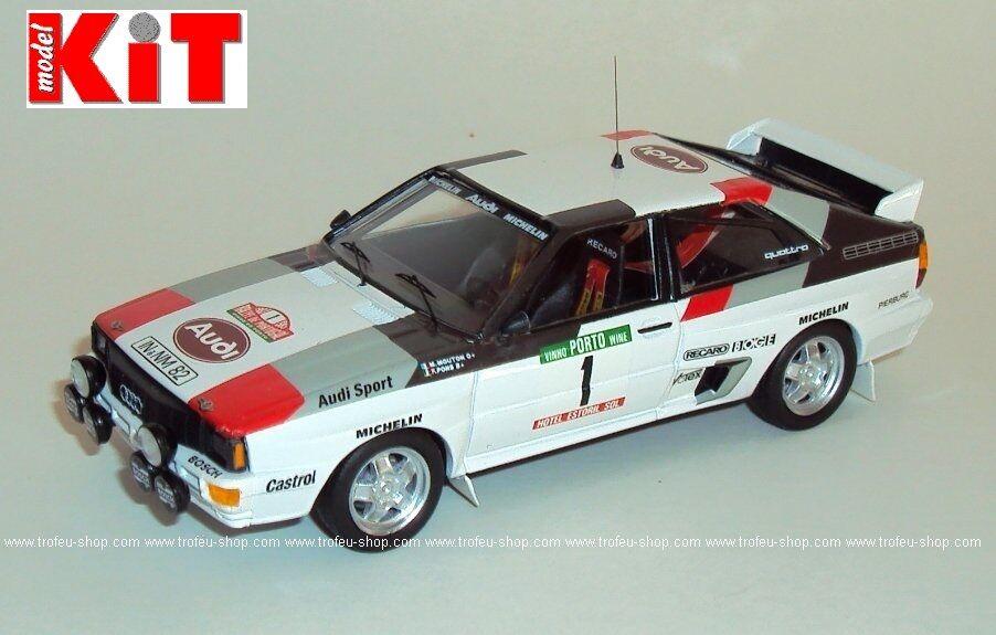 Audi Quattro Michele Mouton Rally Portugal 1983 - 1 43 Trofeu rral 045