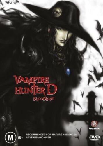 1 of 1 - Vampire Hunter D - Bloodlust (DVD, 2002) R4 PAL NEW FREE POST