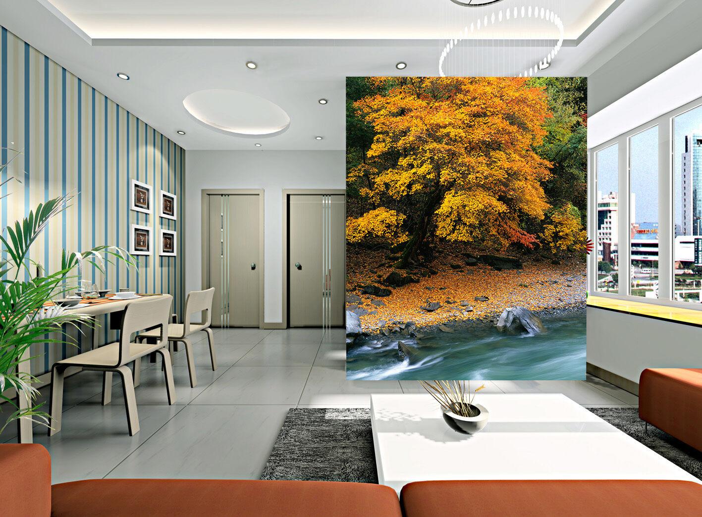 3D Pioppo Foresta-Parete Murale Foto Carta da parati immagine sfondo muro stampa