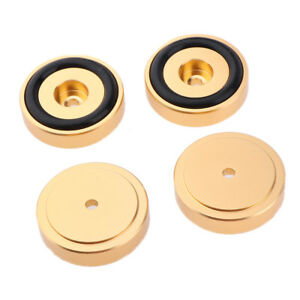 4pcs 25mm Isolation Floor Spikes pads Speaker Box Floor Stand Pad Cone Base Pad
