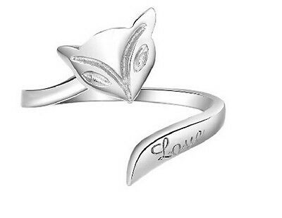Charming Womens Ring Finger Charming Lady Opening Adjustable Ring Wedding Gift