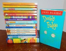 Lot 17 BEVERLY CLEARY & JUDY BLUME Chapter Books Ramona Double Fudge 19 Stories