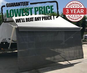 4-6m-16ft-Caravan-RV-Privacy-Screen-Wall-Sun-Shade-Roll-Out-Awning-Jayco-parts