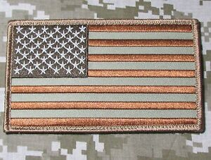 LARGE-USA-AMERICAN-FLAG-US-ARMY-BADGE-DESERT-VELCRO-BRAND-FASTENER-PATCH