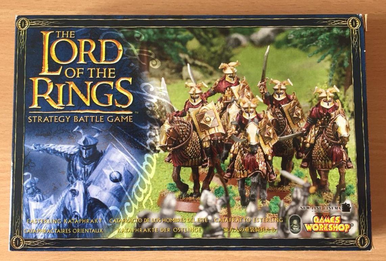 GW Lord of the Rings Hobbit Easterling Kataphrakts Metal Boxed - Fast Post