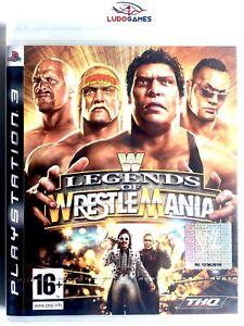 WWE-Legends-of-Wrestlemania-PS3-Playstation-Nuevo-Precintado-Retro-Sealed-New